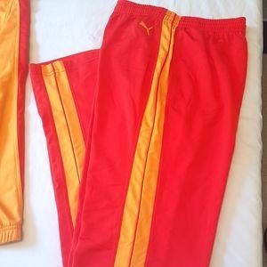 🌟HOST PICK🌟🆕️ PUMA Retro red orange track pants